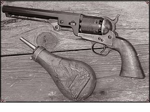 civil war pistols